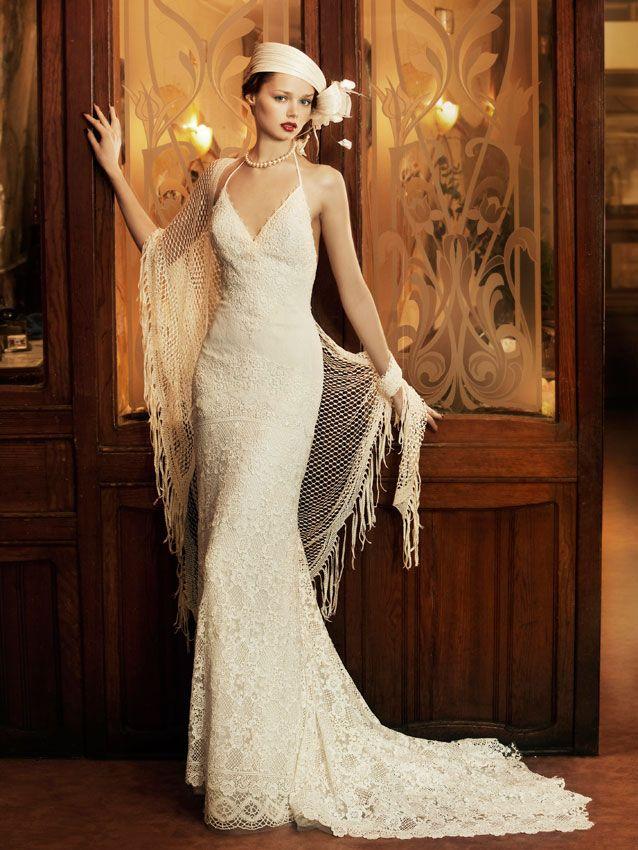 yolancris | vestidos de novia vintage años 20. revival vintage otras