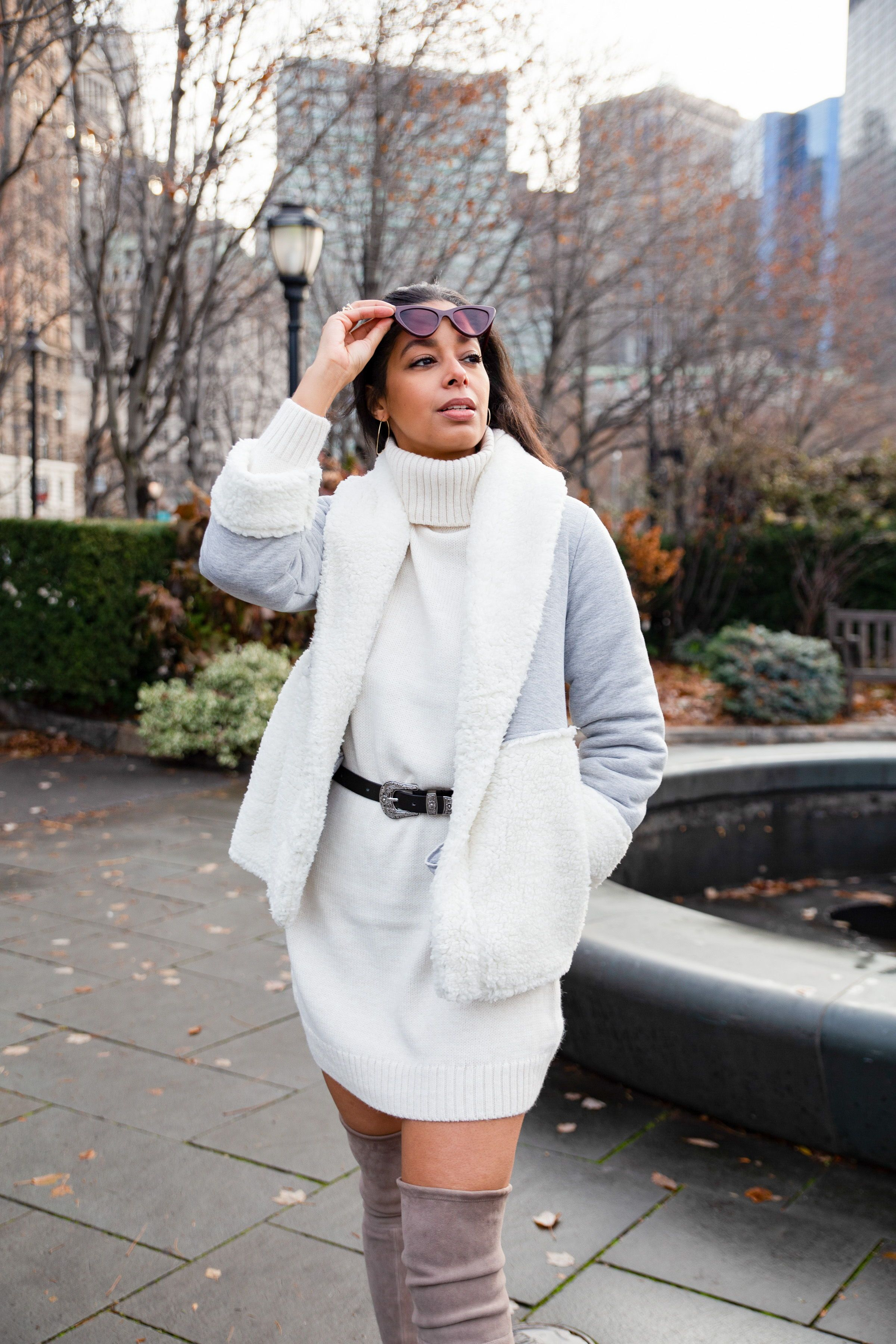 Winter style Winter city outfits NYC Fashion blogger photography 23c8c345a