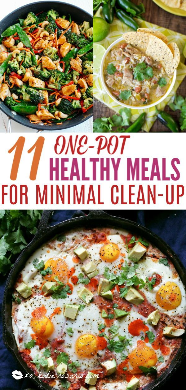 11 One Pot Healthy Meals For Minimal Clean-up images