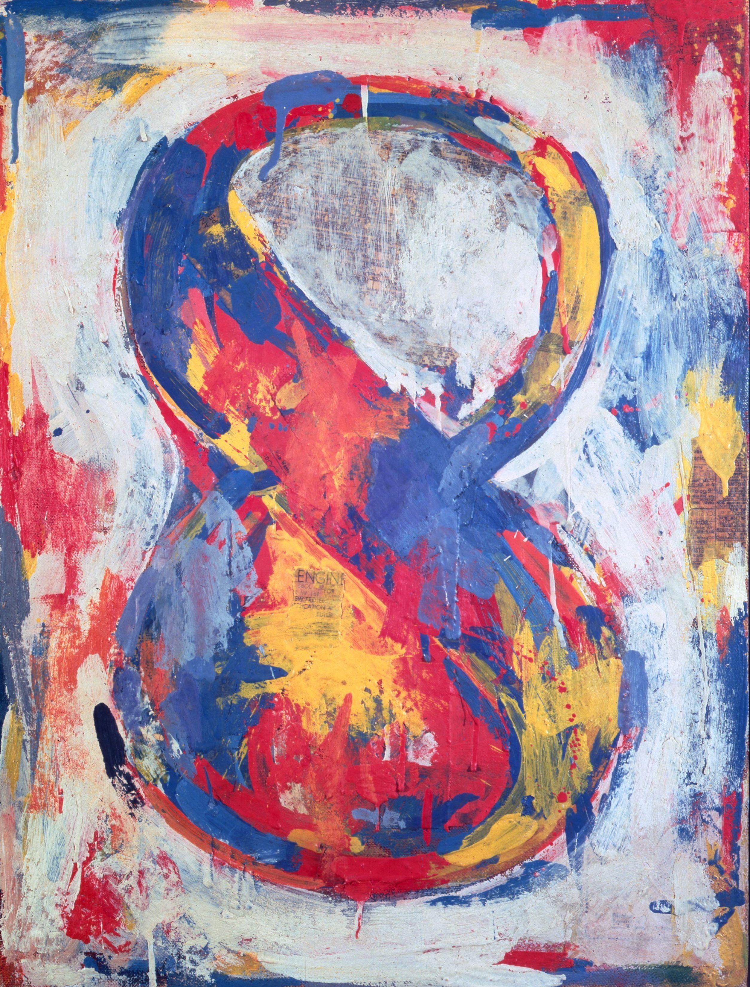 Jasper Johns – Figura 8 (Figure 8), 1959. The Sonnabend Collection. Prestito a lungo termine presso Ca' Pesaro, Galleria Internazionale d'Arte Moderna, Venezia, Nina Sundell e Antonio Homem © Jasper Johns | Artribune
