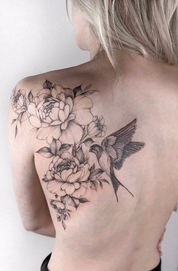 Photo of 43 Beautiful Penoy Flower Tattoo Design Ideas For Fashion Woman – Page 15 of 43 – Fashionsum Blog