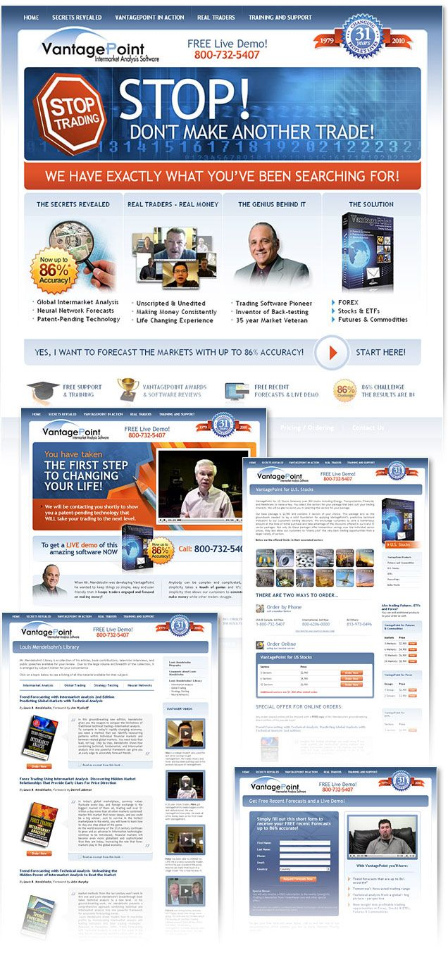 Trading Software Trading Platform Website Design And Marketing Lightmix Financial Website Custom Website Design Website Design