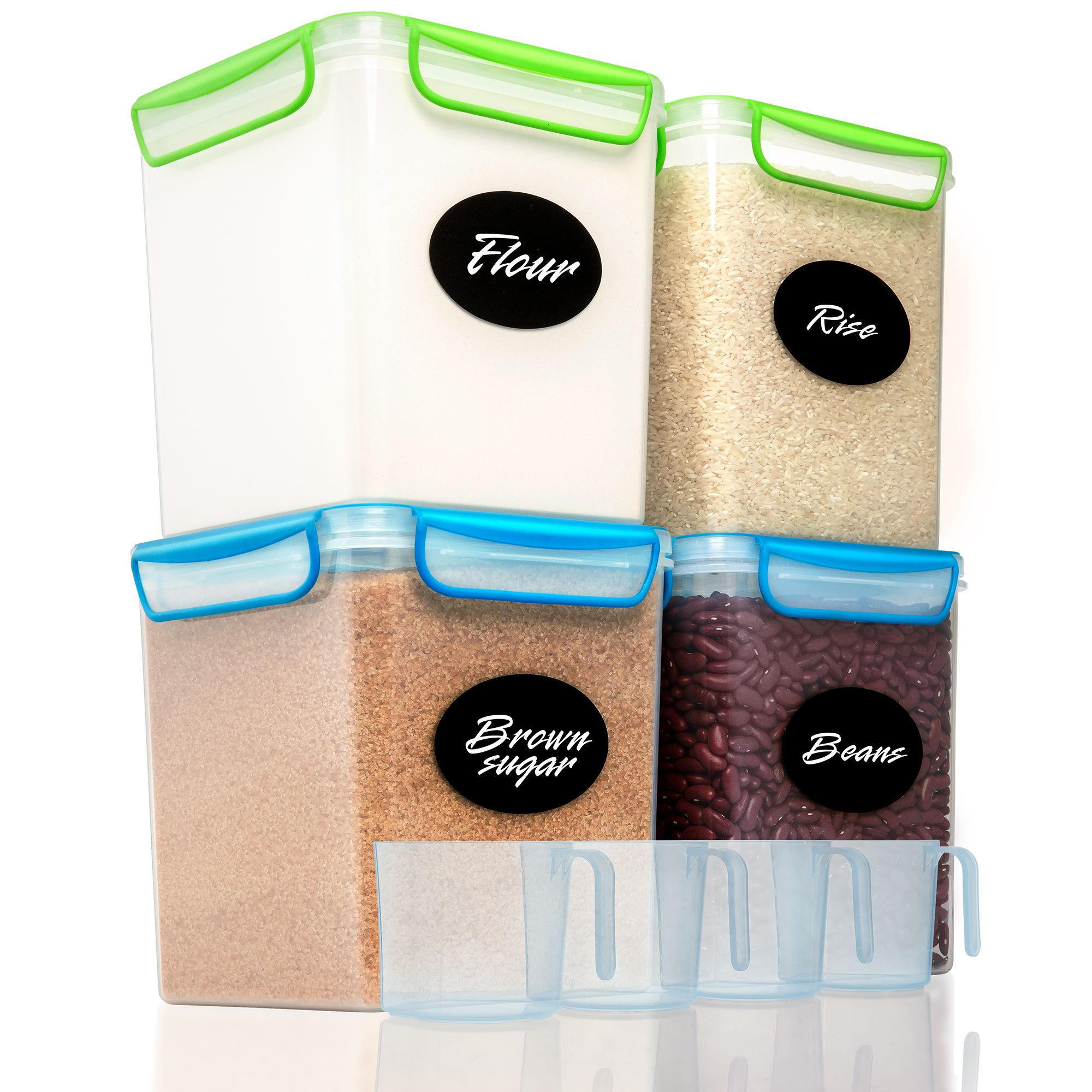 Goodcups 4l Airtight Food Storage Containers Airtight Food Storage Containers Airtight Food Storage Dry Food Storage