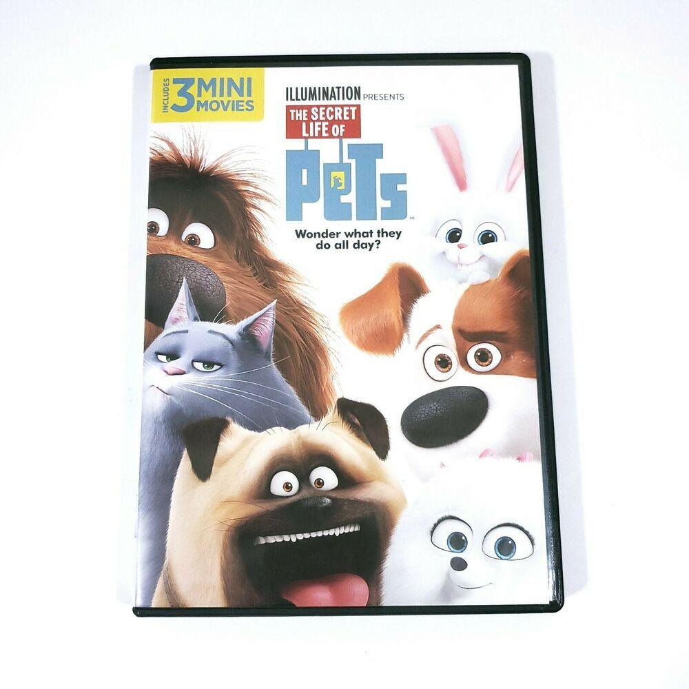 The Secret Life Of Pets Dvd 2016 Louis Ck Kevin Hart Albert Brooks 3 Mini Movies Illumination In 2020 Secret Life Of Pets Secret Life Louis Ck