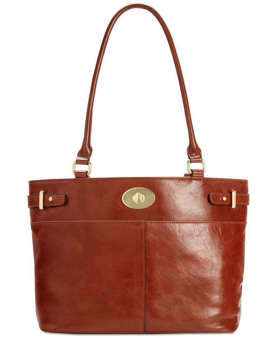 Giani Bernini Glazed Turnlock Tote