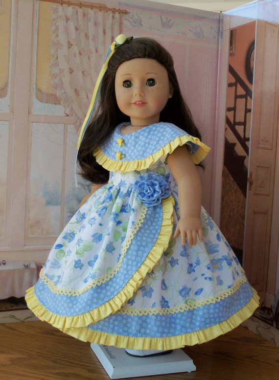 PDF Sewing Pattern for American Girl Doll / Morning Glory / Sewing ...