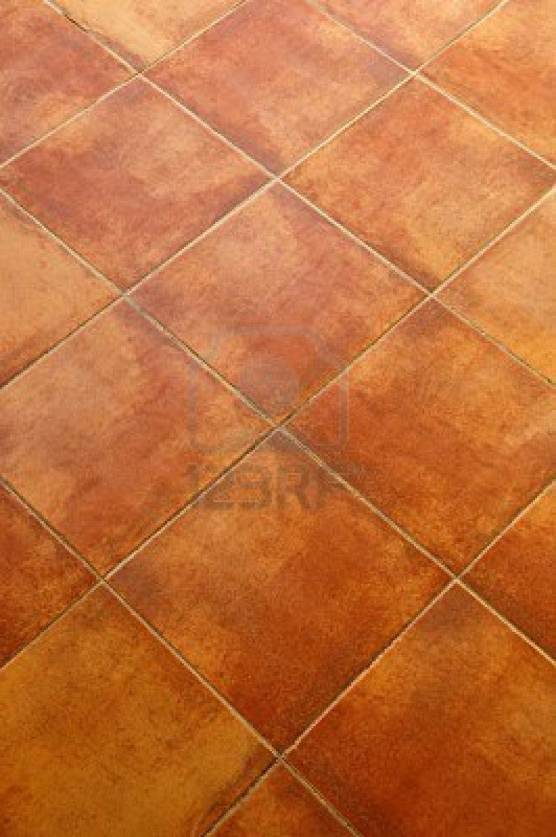 Looks like our new terracotta tiles at chez mirabel chez image detail for closeup of square terracotta ceramic tile floor background stock photo dailygadgetfo Choice Image