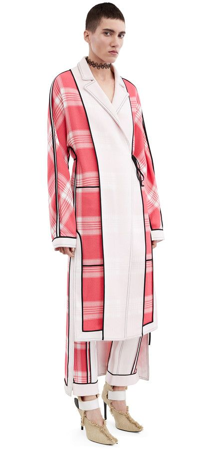 Acne Studios Vaughn reversible, kimono inspired coat #AcneStudios #Resort2016
