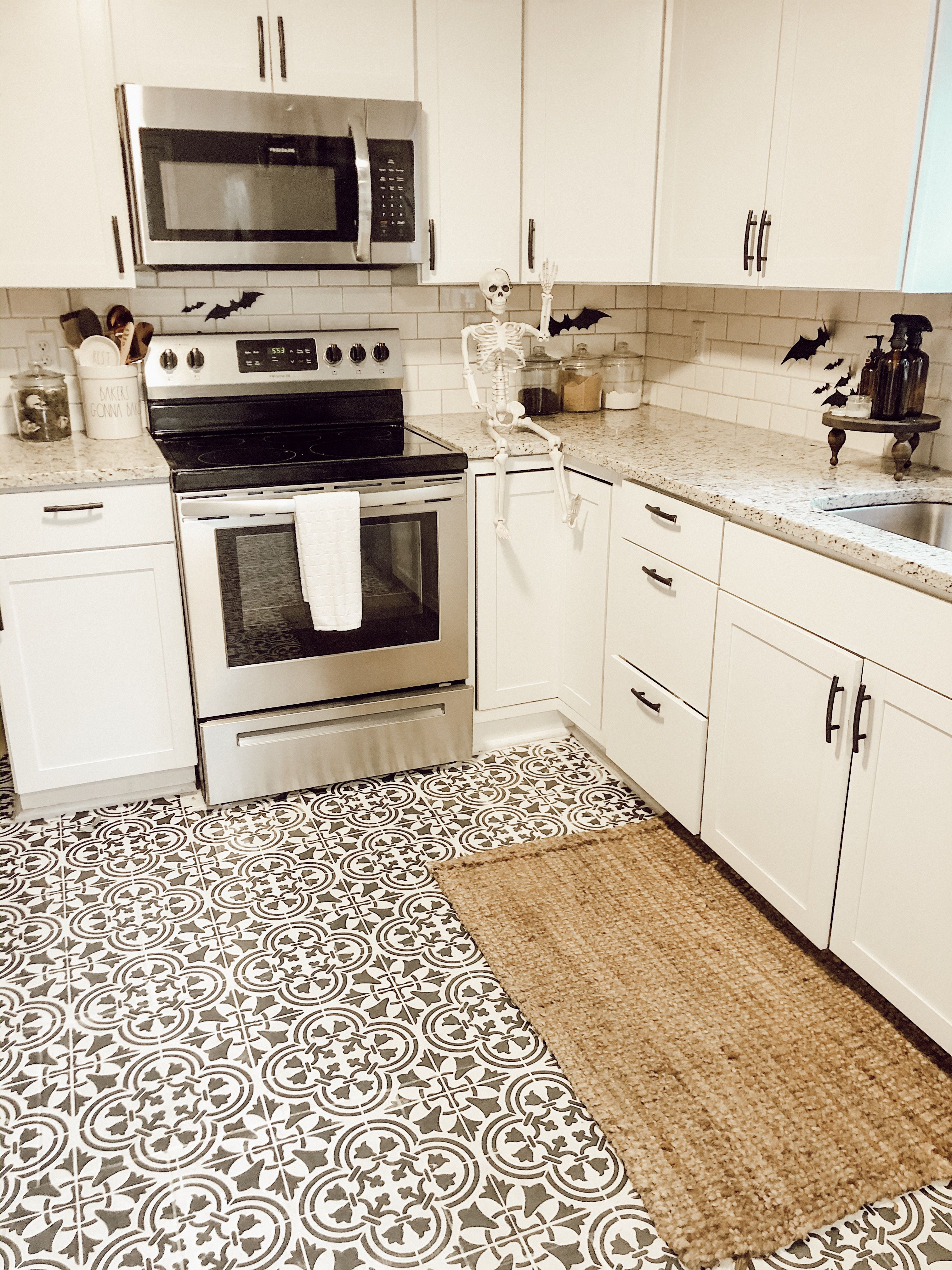 Farmhouse Kitchen Patterned Kitchen Tiles Kitchen Floor Tile Patterns Painting Kitchen Tiles