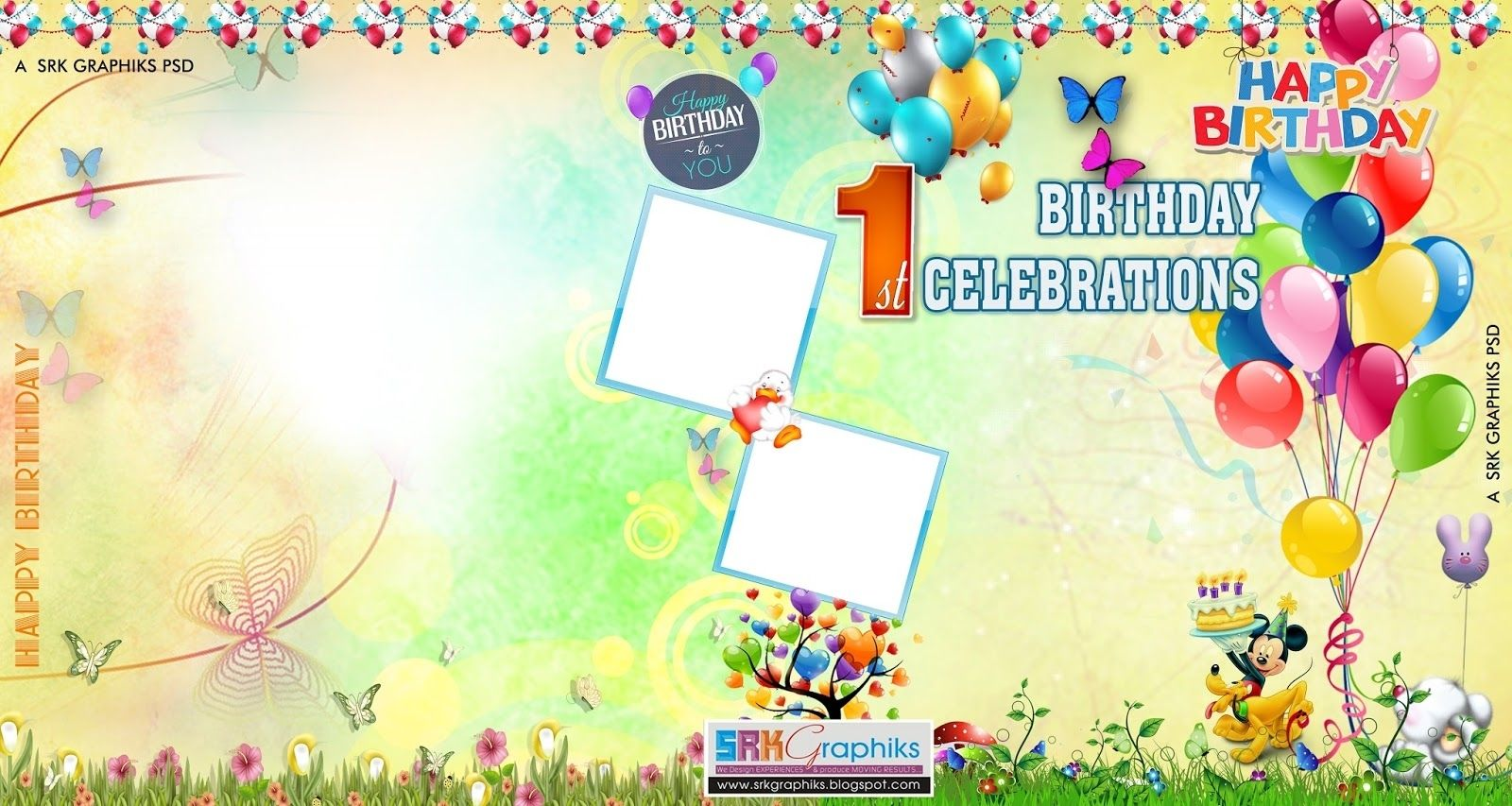 Birthday Flex Banner Background Design Flex Banner Design Psd
