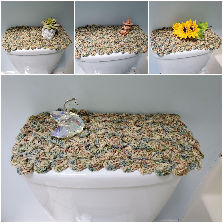 Toilet Tank Topper Crochet Toilet Tank Topper Bathroom Decor Aspen Print Ttt1r Toilet Tank Bathroom Decor Crafts To Make And Sell