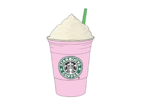Starbucks Transparent Tumblr Pink | www.imgkid.com - The ...