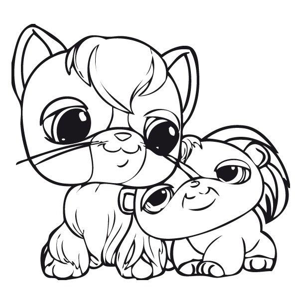 Coloriage Dessins Littlest Pet Shop 20 Lps Coloring Pages