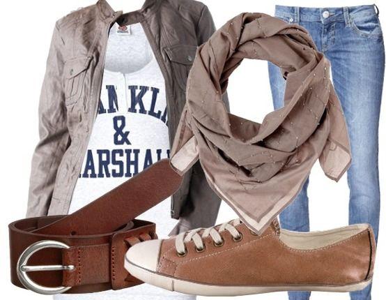 Das typische all-day outfit - bequem, stylisch, sympathisch.