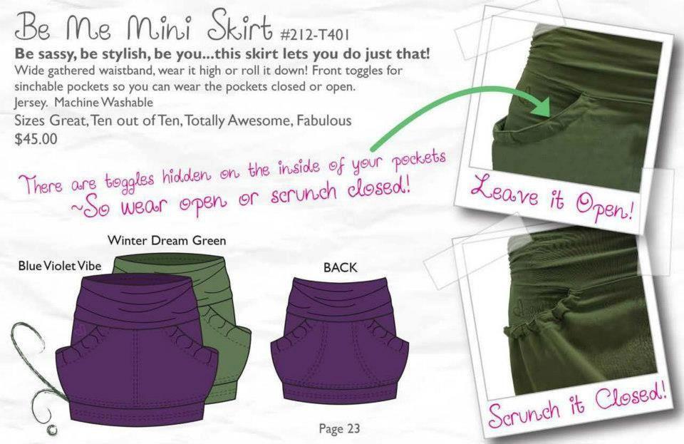 Great skirt for tweens!