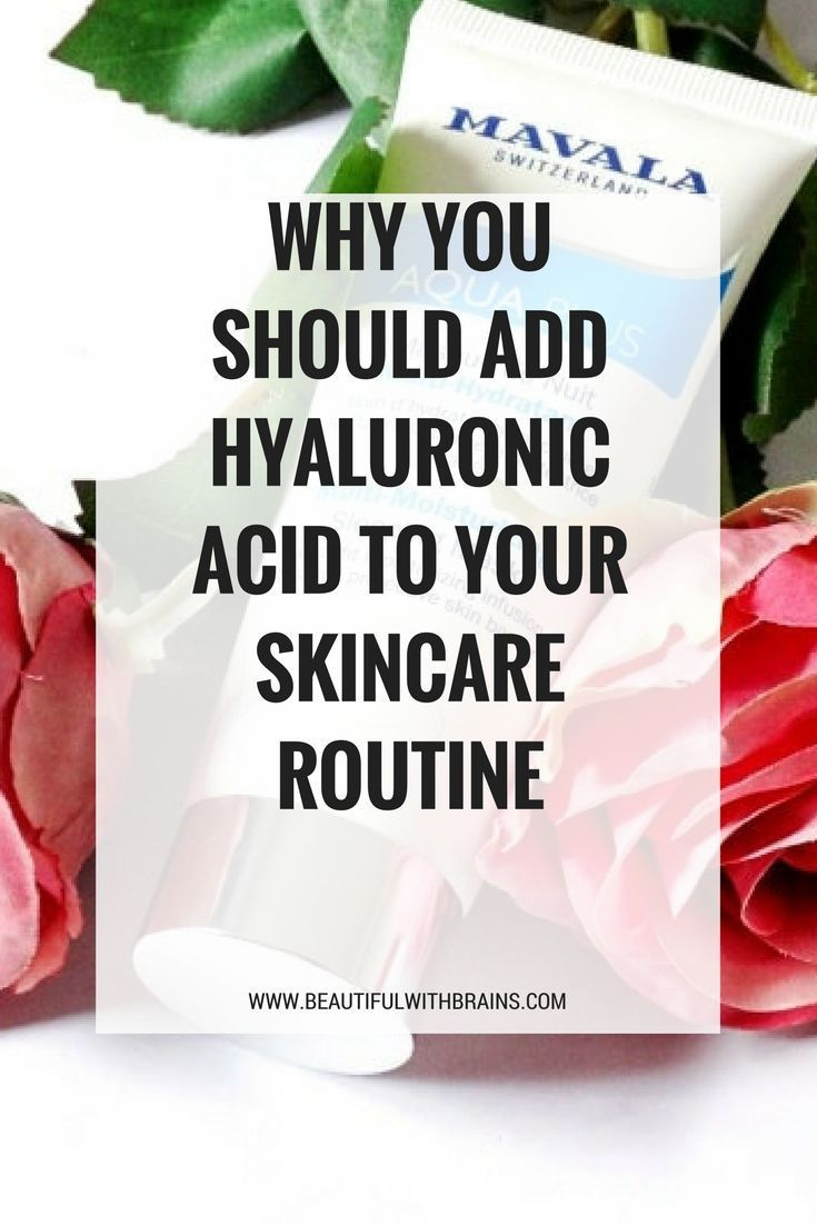 Why you should add hyaluronic acid to your skincare routine