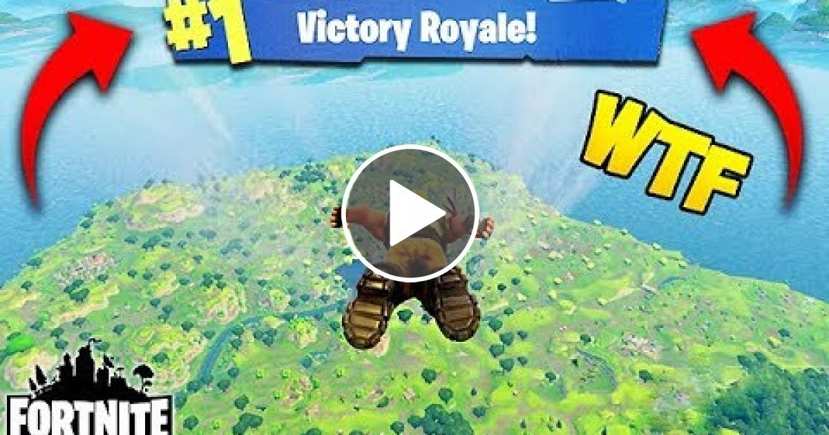 Winning A Fortnite Game In Under 10 Seconds Fortnite Funny Fails