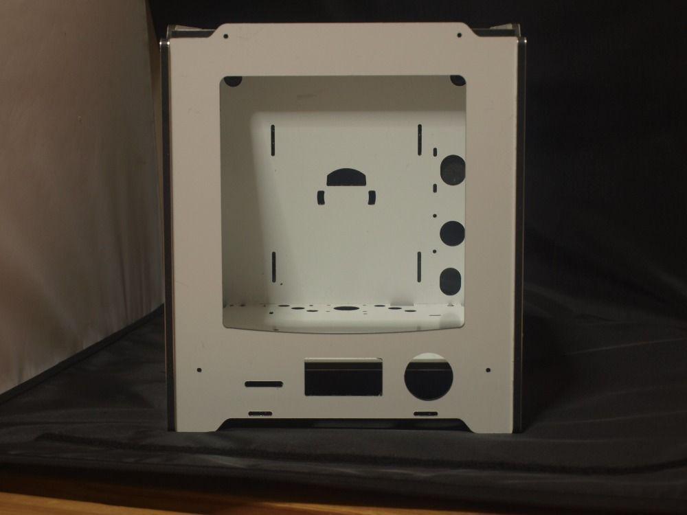 DIY Ultimaker 2 Go! 3d printer assemble frame aluminum
