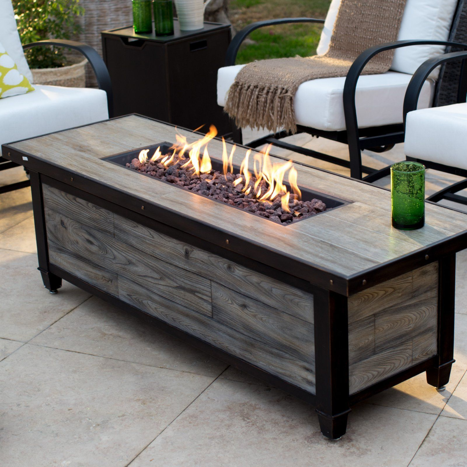 Pin On Deck Patio Fire Table Fire Pit Coffee Table Outdoor Fire Table [ 1600 x 1600 Pixel ]