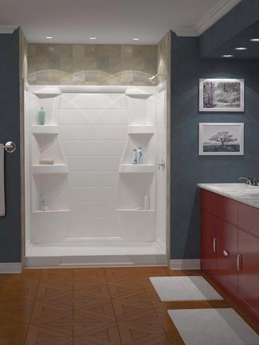 Firenze X Shower Wall Set At Menards Like This One - Menards bathroom remodel