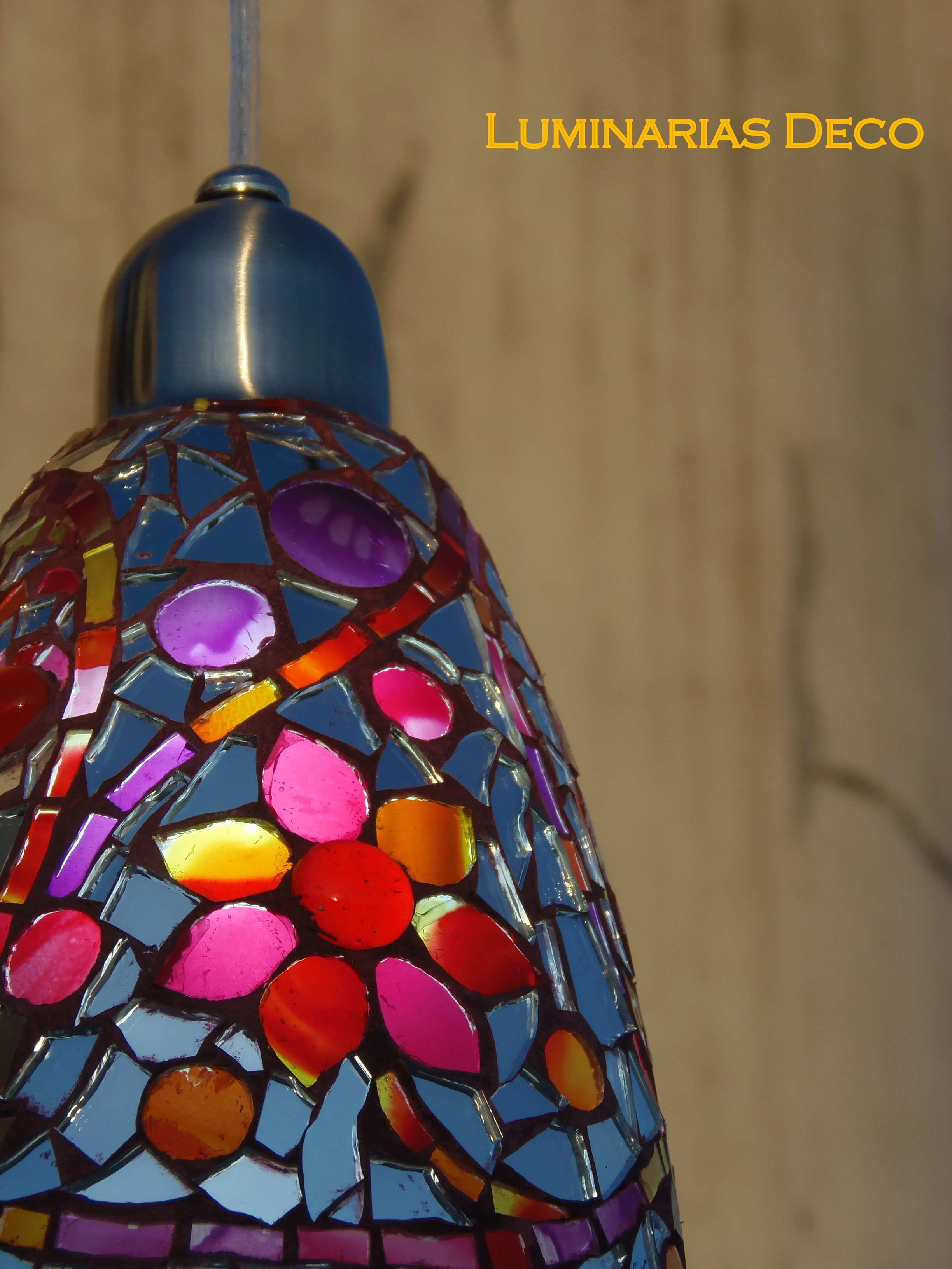 Luminarias (mosaiquismo en vidrio)
