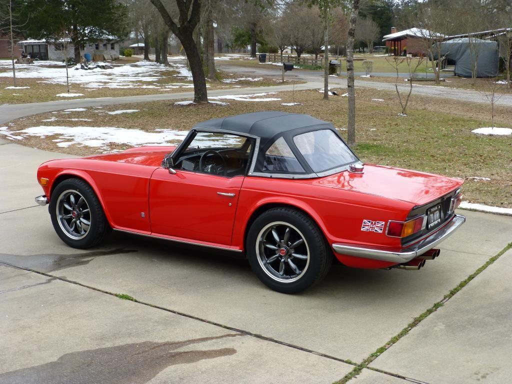 1973 TR6 with 17\