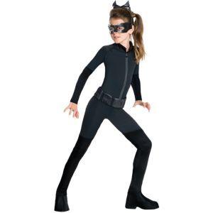 Girls Catwoman Costume - The Dark Knight Rises