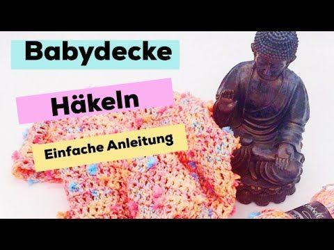 Diy Häkelanleitung Babydecke Für Anfänger Kind Pinterest