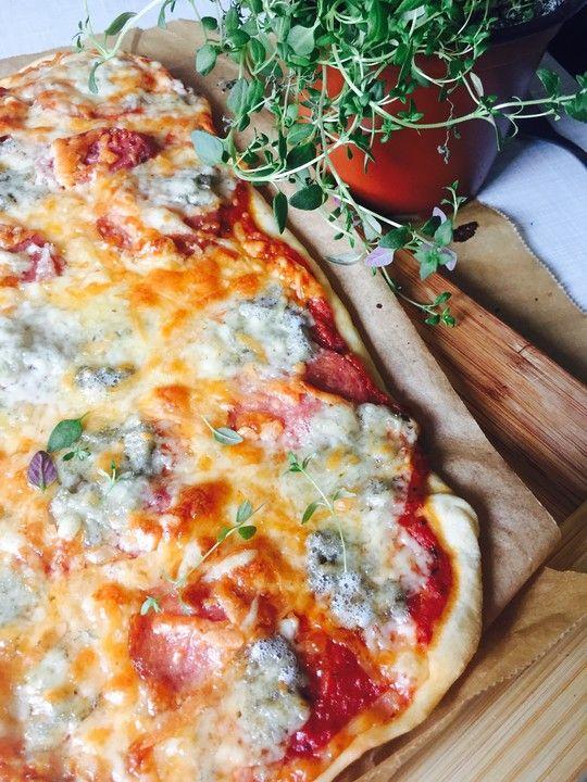 Pizzateig #pizzateigmittrockenhefe