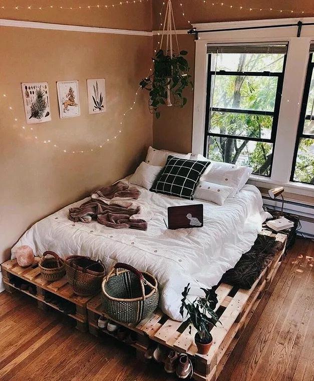 22 Amazing Pallet Bedroom Design Ideas Bedroomideas Bedroomdecor