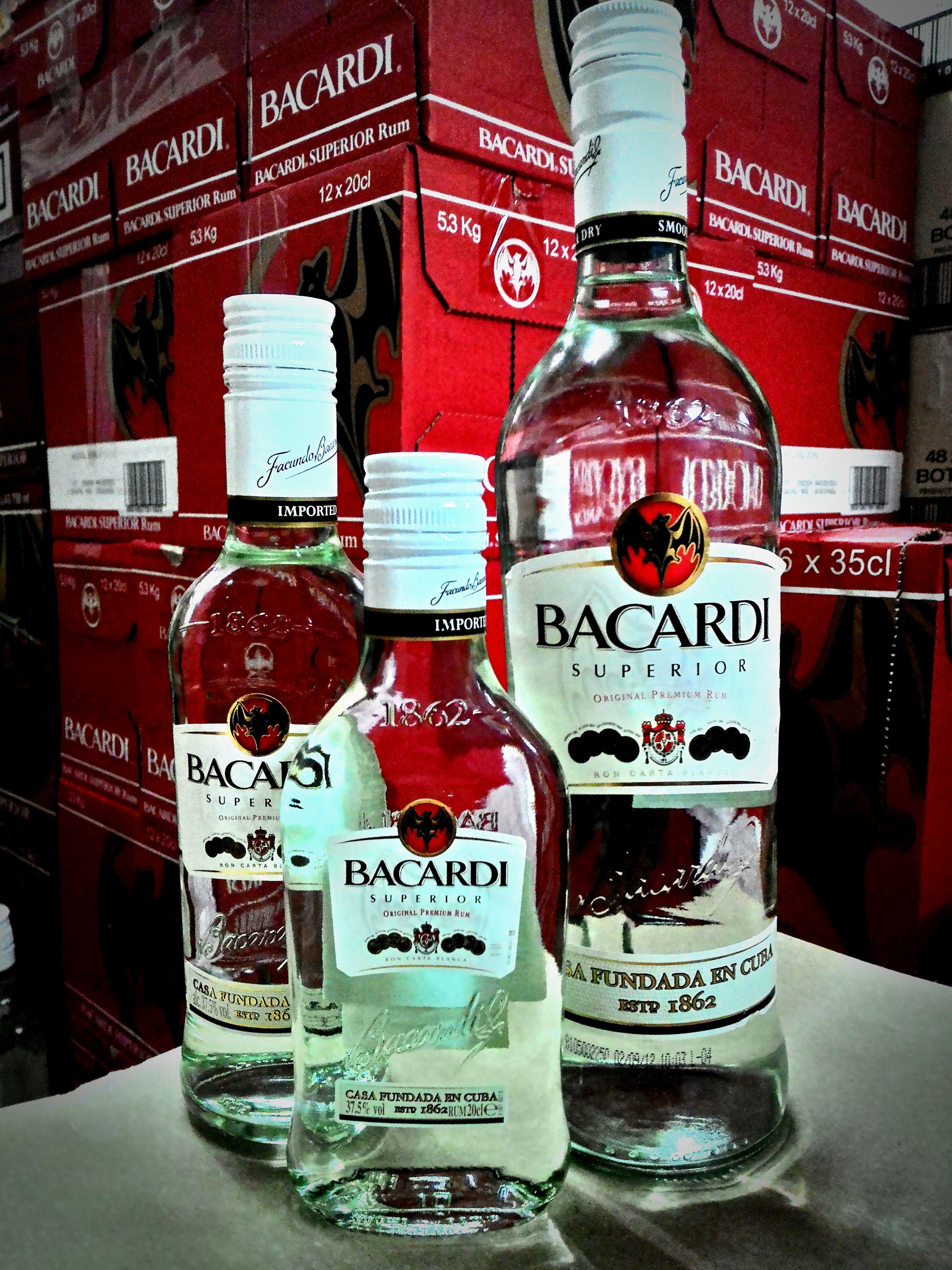 Barcadi Superior Rum Www Newcastl Com Sg Rum Drinks Drinks Bacardi