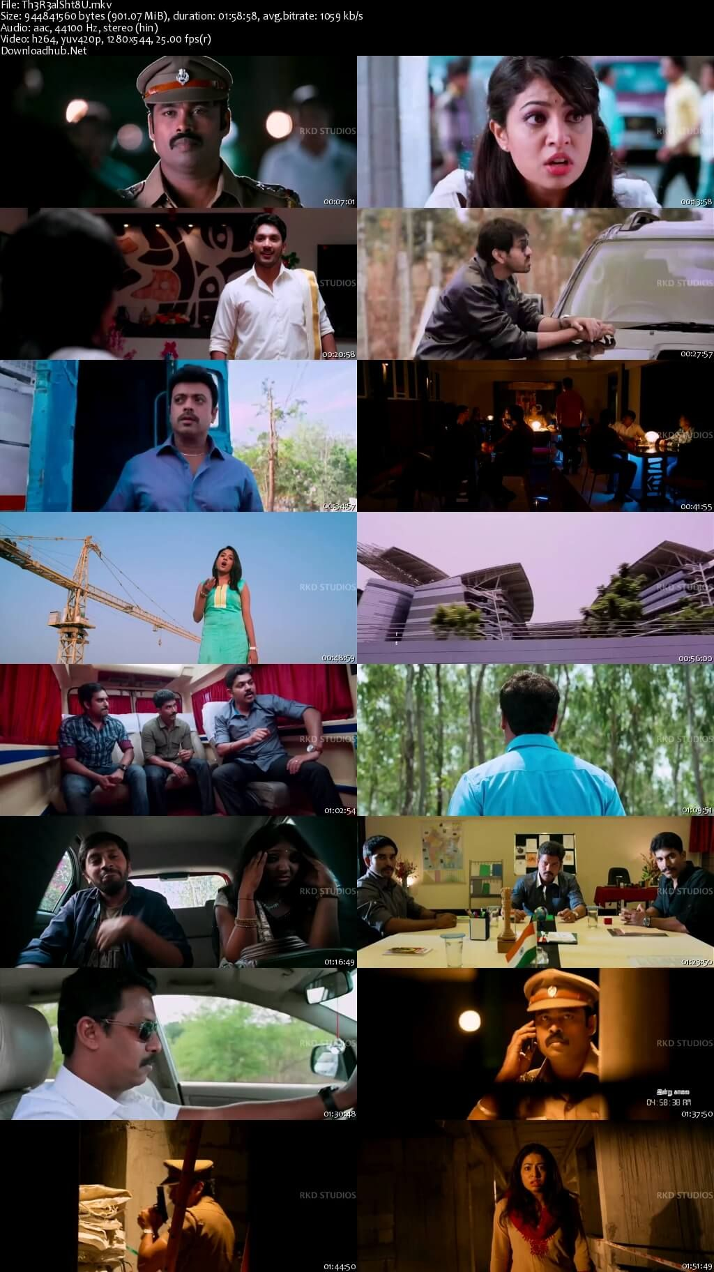 Screenshot Of The Real Shatru 2016 Hindi Dubbed 720p Hdrip X264 Resumeable Single  Free Download Links