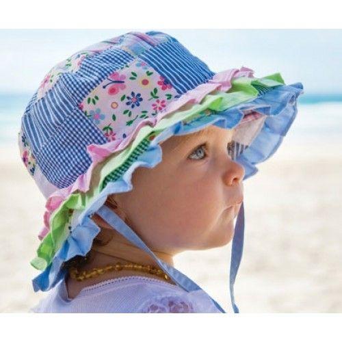Baby Sun Hat Newborn Boy Girl Toddler Cotton Summer Cap Fit For 3-24 Months Kids