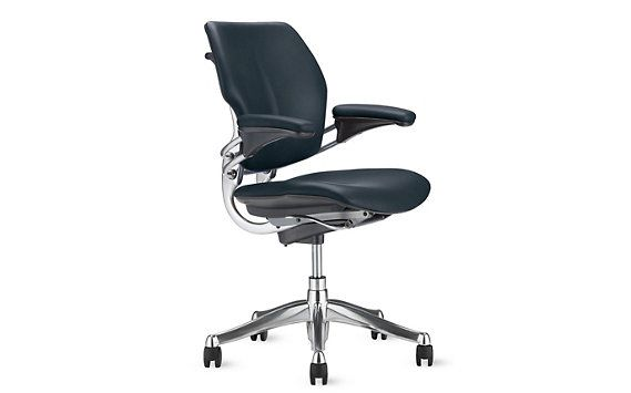Dark Blue No Headrest 6 Weeks Freedom Task Chair Vicenza