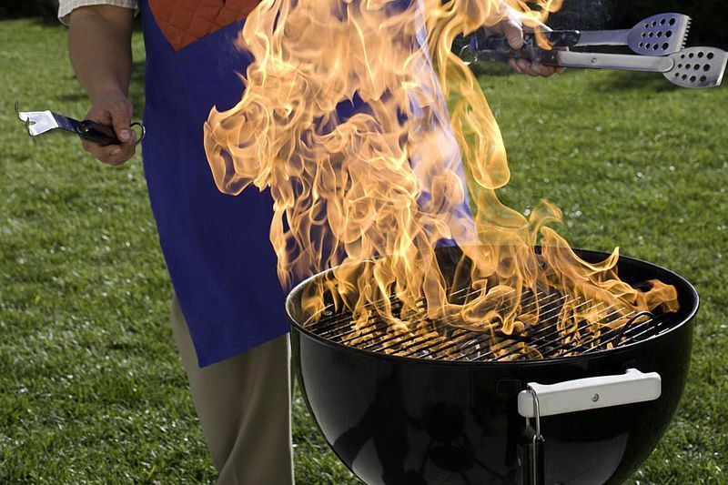 How to light charcoal safely charcoal grill charcoal
