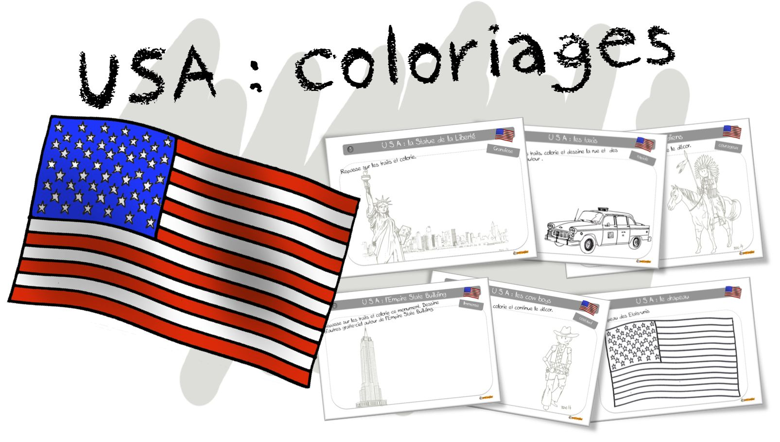 Coloriages USA