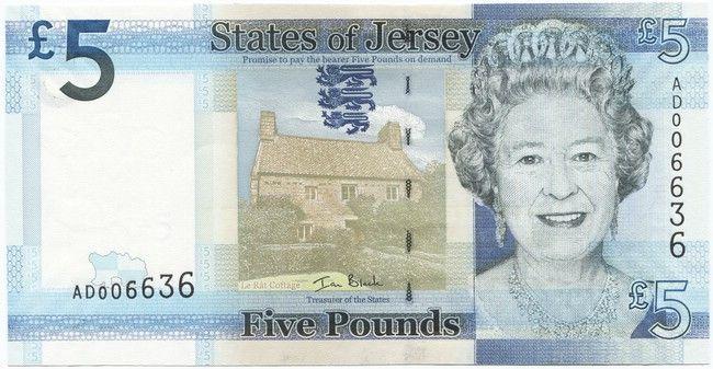 5 Pounds 2010 (Elizabeth II)
