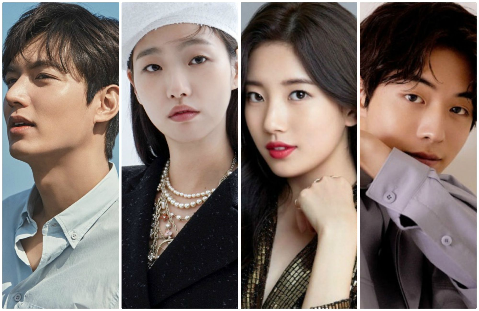 Lee Min Ho - Kim Go Eun, Seo Kang Joon - Park Min Young, Suzy - Nam Joo Hyuk, Park So Dam - Park Bo Gum are the 4 sweet couples expected on the Korean