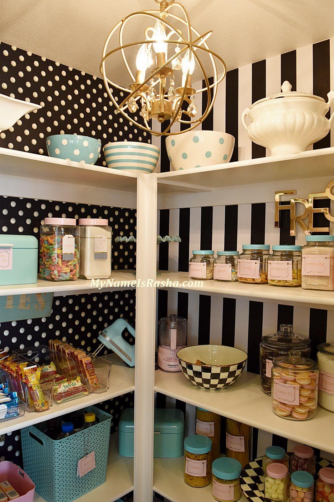 How To Organize Your Pantry. My Name Is Rasha إسمي رشا