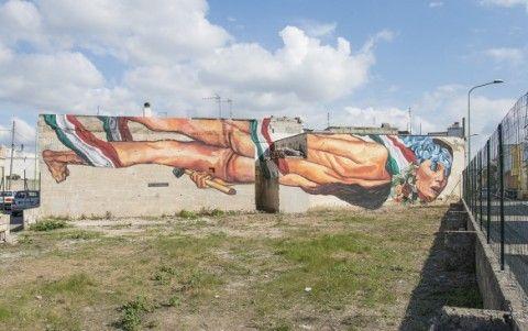 EVER - Reinterpretazione Del Concetto Di Repubblica New Mural @ Salento, Italy