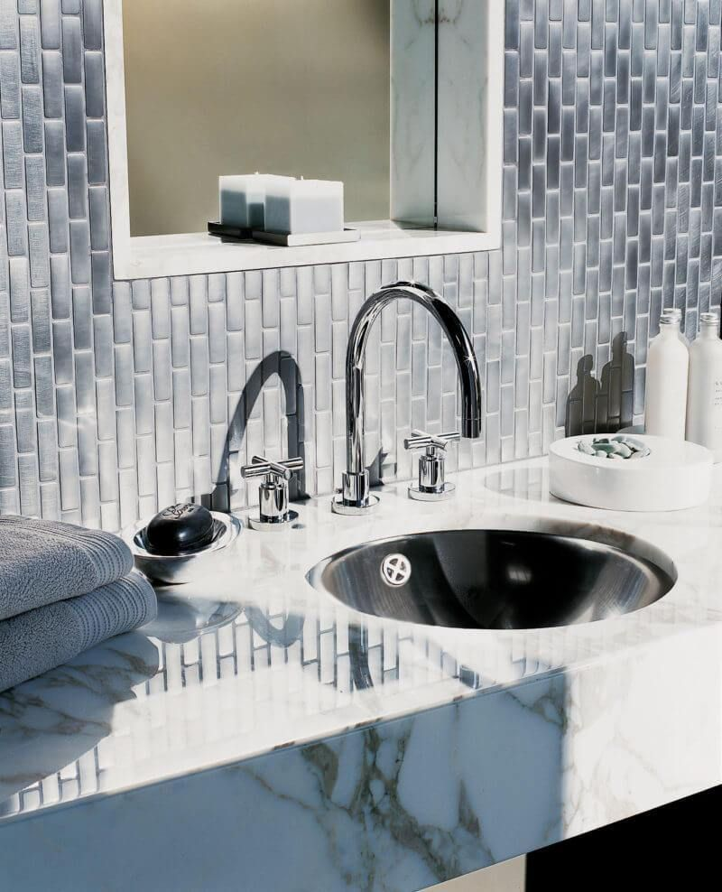 simply chic bathroom tile ideas for floor shower and wall
