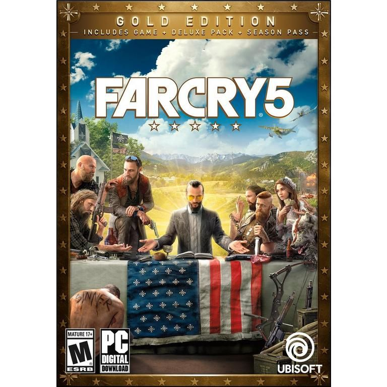 Ubisoft Digital Far Cry 5 Gold Edition Pc Download Now At Gamestop Com In 2020 Xbox One Crying