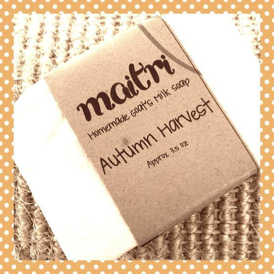 Maitri Bath & Body Fall Fragrances #fallmilkbath Autumn Harvest Homemade Goat's Milk Soap - Maitri #fallmilkbath Maitri Bath & Body Fall Fragrances #fallmilkbath Autumn Harvest Homemade Goat's Milk Soap - Maitri #fallmilkbath