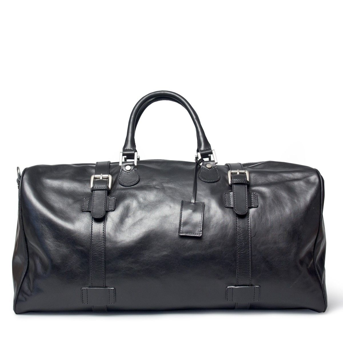 Leather Large Travel Bag (72L) | Travel bag | Mens travel