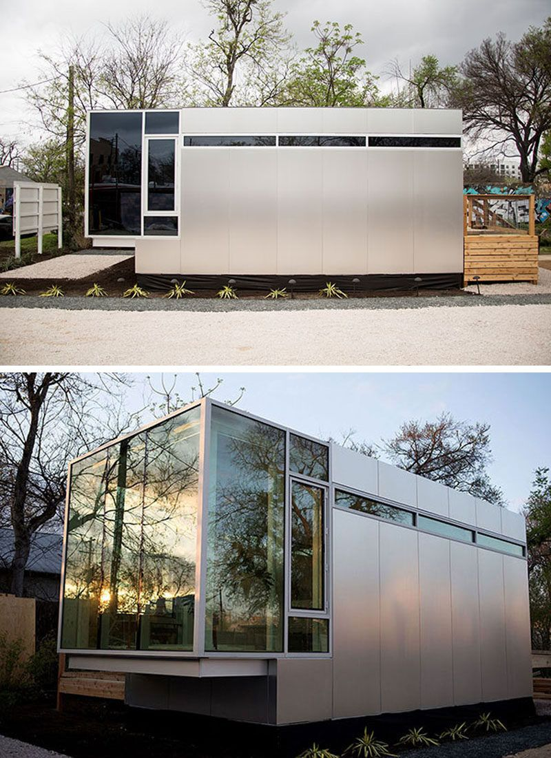 This Tiny House Is Designed For Small Space Living | Pinterest ...