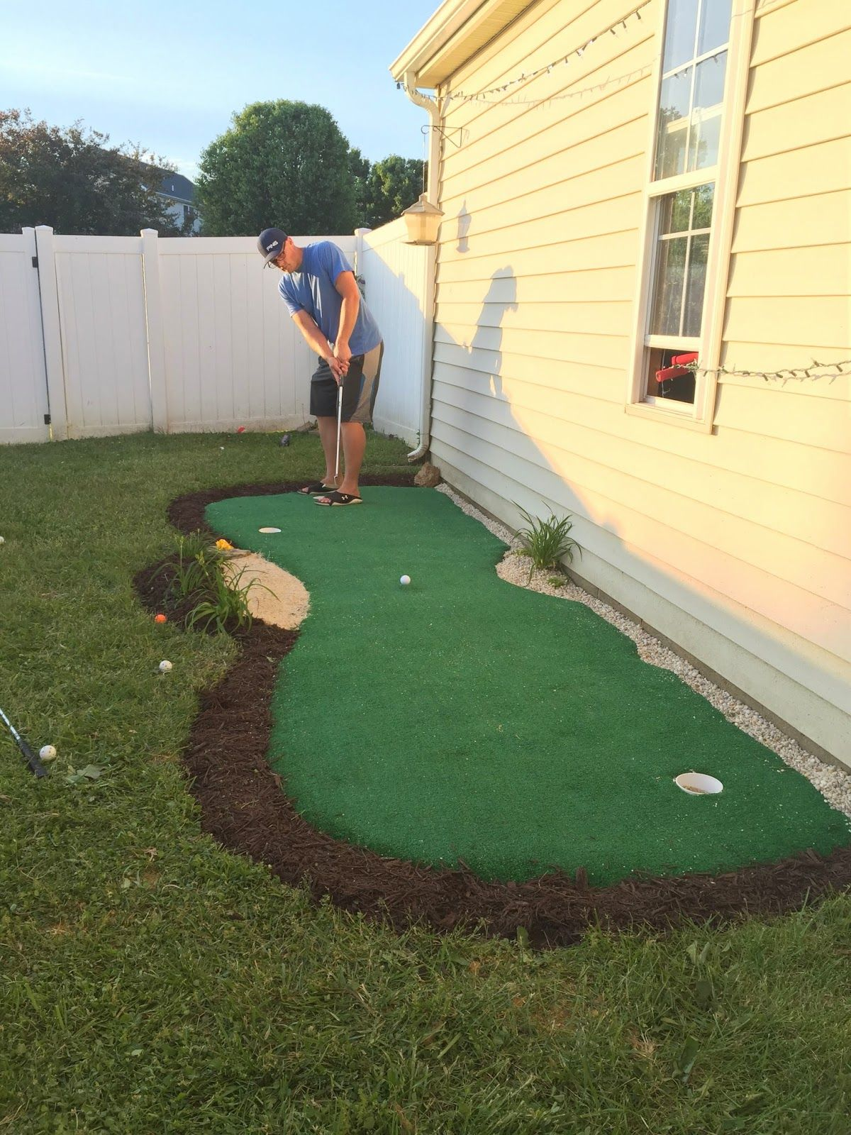 this holiday weekend we made a little backyard dream come true it