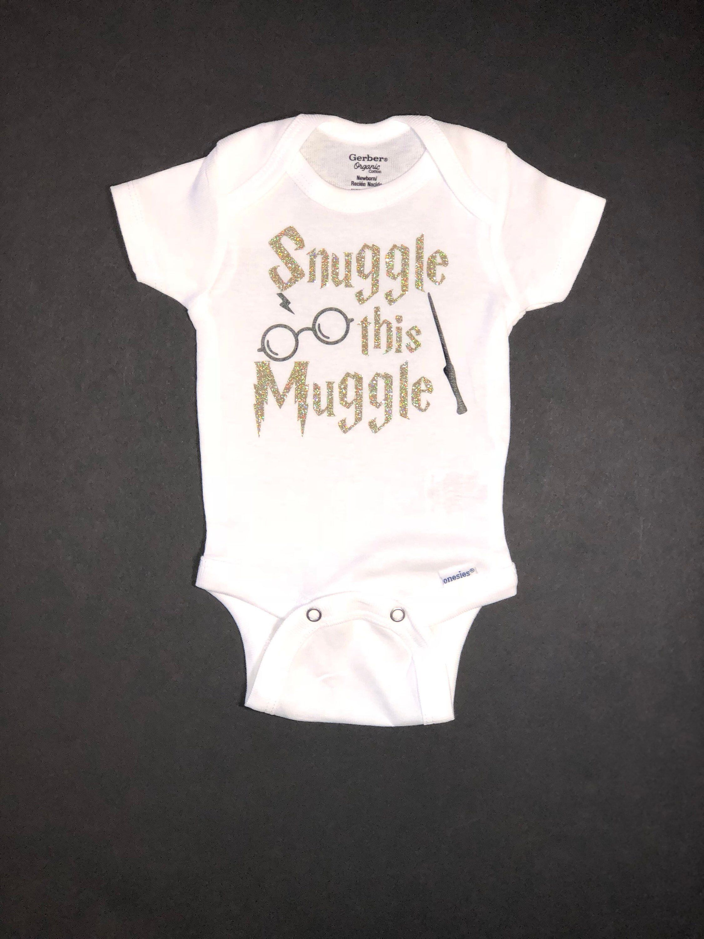 78b1832d1 Excited to share this item from my #etsy shop: Snuggle This Muggle / Onesie