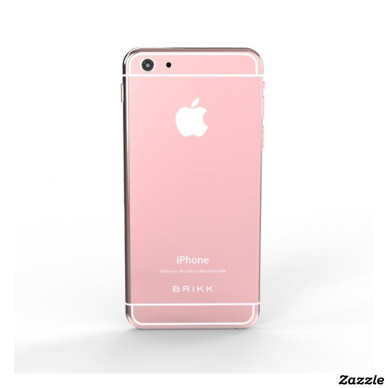 24k Rose Gold White iPhone 6