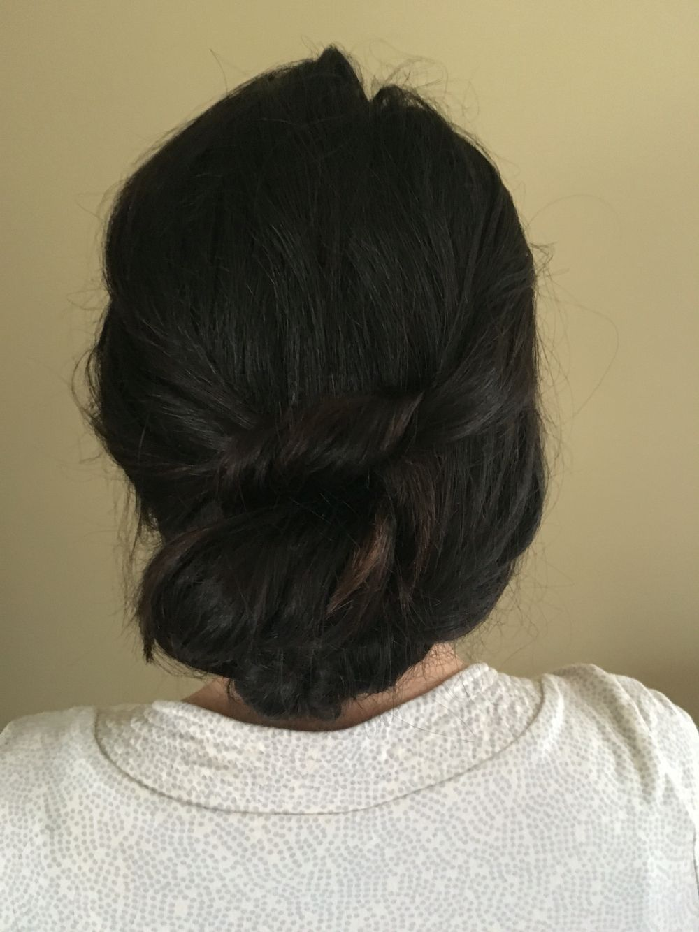 Bohemian Knot Updo Hairstyle Salonoggi Clawson Michigan Www
