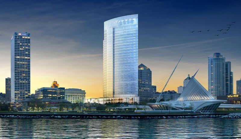 Northwestern Mutual Insurance's new 32 story headquarters